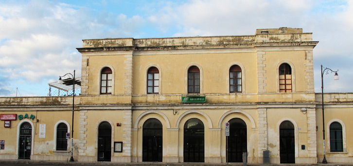 stazione ferroviaria Gallipoli - gallipolivirtuale.it