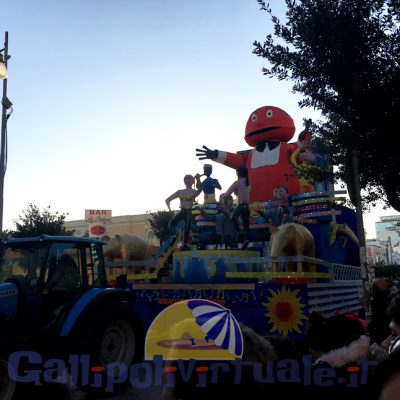 Carnevale Gallipoli 2018 Carri
