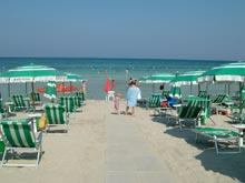 spiaggia attrezzata residence le dune